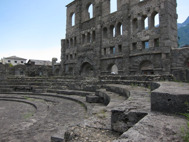 Aosta - Teatro Romano
