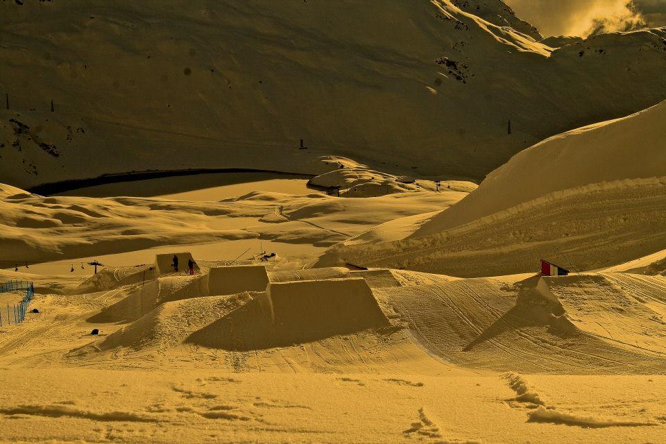 snowpark valle d'aosta
